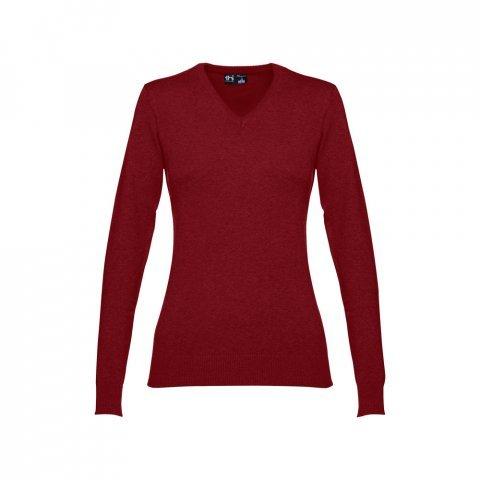 30150.15-S<br> MILAN WOMEN. Women's V-neck jumper