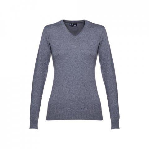 30150.93-L<br> MILAN WOMEN. Women's V-neck jumper