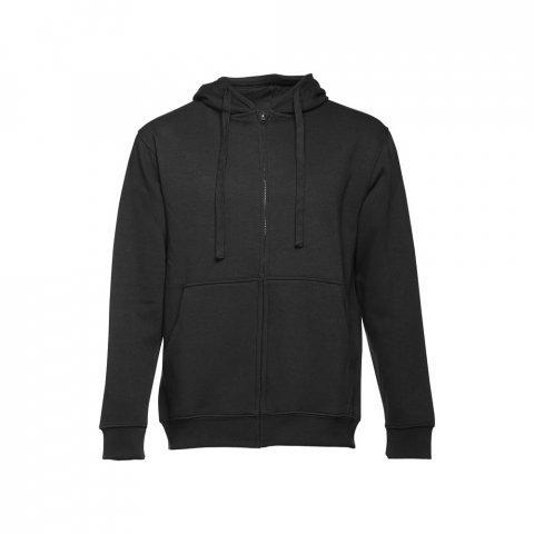 30161.03-S<br> AMSTERDAM. Men's hooded full zipped sweatshirt