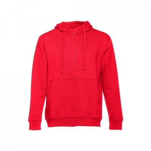 30161.05-S<br> AMSTERDAM. Men's hooded full zipped sweatshirt