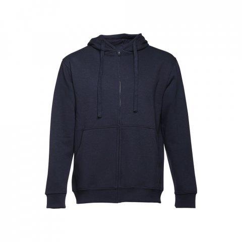 30161.34-XXL<br> AMSTERDAM. Men's hooded full zipped sweatshirt