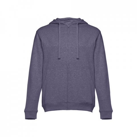30161.94-XXL<br> AMSTERDAM. Men's hooded full zipped sweatshirt