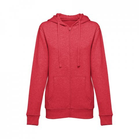 30162.95-XXL<br> AMSTERDAM WOMEN. Women's hooded full zipped sweatshirt