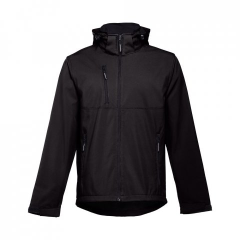 30180.03-XXL<br> ZAGREB. Men's softshell with removable hood