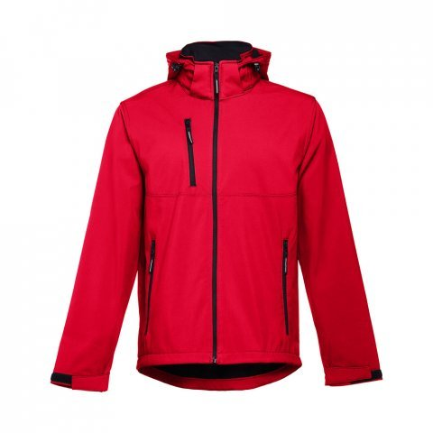 30180.05-XXL<br> ZAGREB. Men's softshell with removable hood