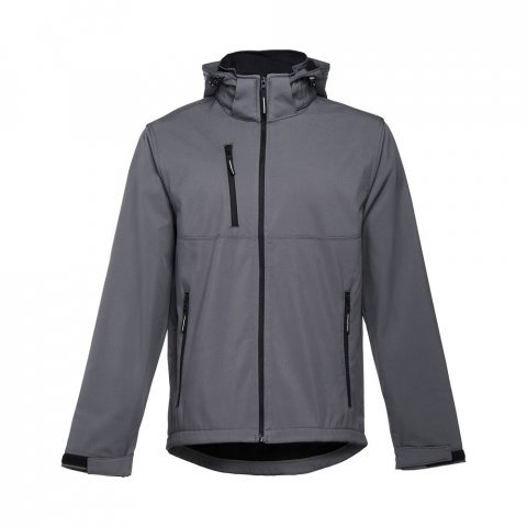 30180.13-XXL<br> ZAGREB. Men's softshell with removable hood