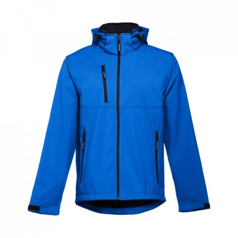 30180.14-L<br> ZAGREB. Men's softshell with removable hood