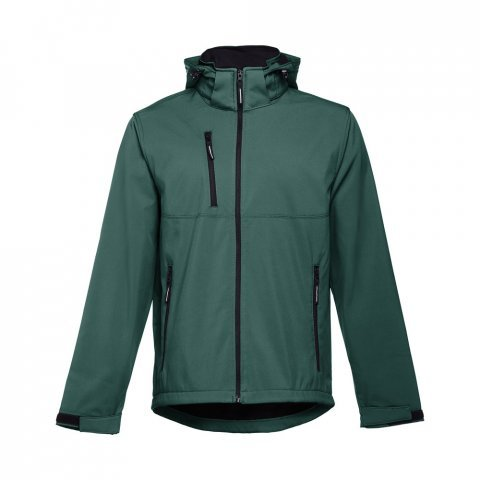 30180.29-XL<br> ZAGREB. Men's softshell with removable hood