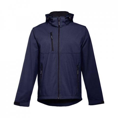 30180.34-XXL<br> ZAGREB. Men's softshell with removable hood