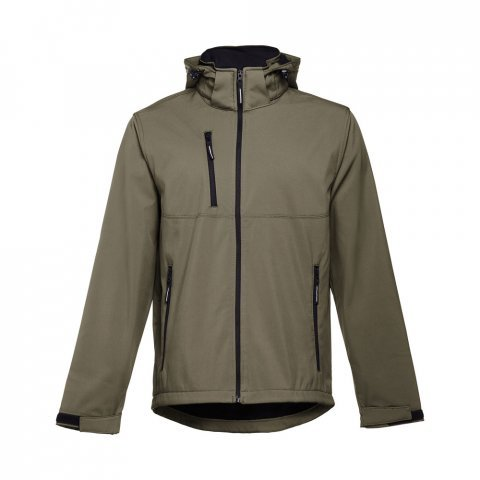 30180.49-XXL<br> ZAGREB. Men's softshell with removable hood