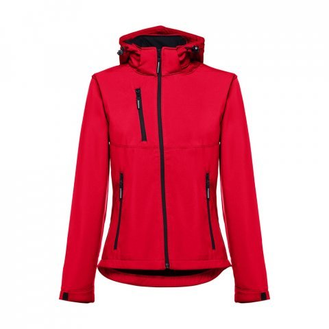 30181.05-XXL<br> ZAGREB WOMEN. Women's softshell with removable hood