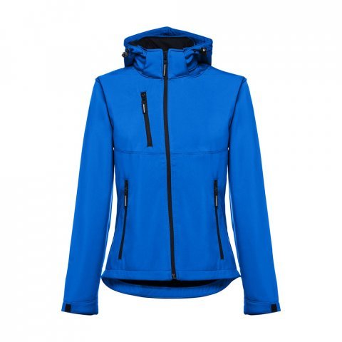 30181.14-XXL<br> ZAGREB WOMEN. Women's softshell with removable hood