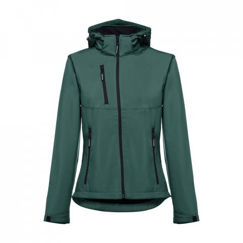 30181.29-XXL<br> ZAGREB WOMEN. Women's softshell with removable hood