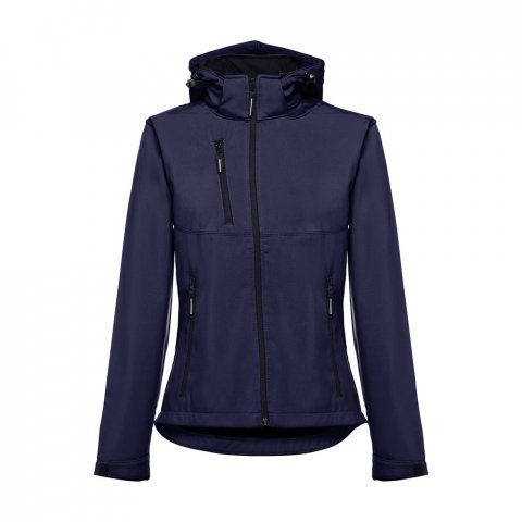 30181.34-L<br> ZAGREB WOMEN. Women's softshell with removable hood