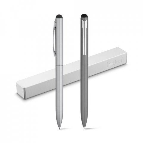 81005.27<br> WASS Touch. Aluminium ballpoint with twist mechanism