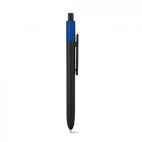81007.04<br> KIWU Metallic. ABS ballpoint with shiny finish and lacquered top with metallic finish