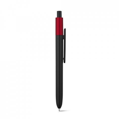 81007.05<br> KIWU Metallic. ABS ballpoint with shiny finish and lacquered top with metallic finish