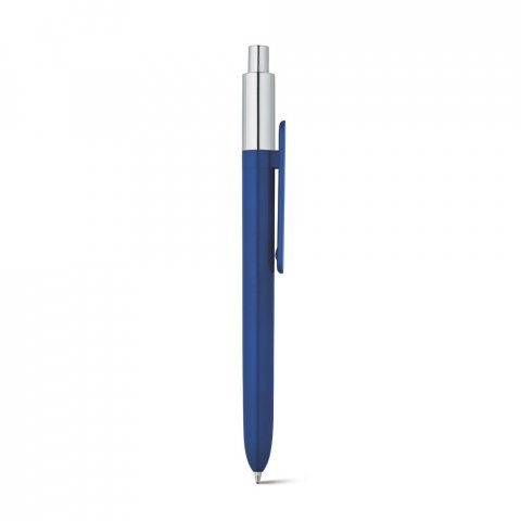 81008.04<br> KIWU Chrome. ABS ballpoint with shiny finish and top with chrome finish