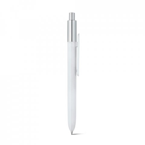81008.06<br> KIWU Chrome. ABS ballpoint with shiny finish and top with chrome finish