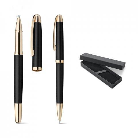 81210.03<br> EZEKIEL SET. Roller pen and ball pen set