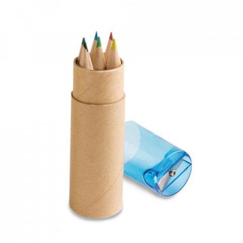 91751.04<br> ROLS. Pencil box with 6 coloured pencils