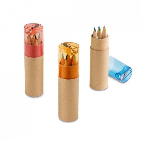 91751.28<br> ROLS. Pencil box with 6 coloured pencils