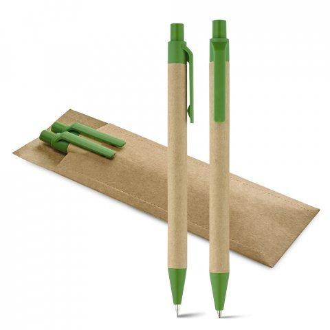 91846.09<br> LEAF. Ball pen and mechanical pencil set