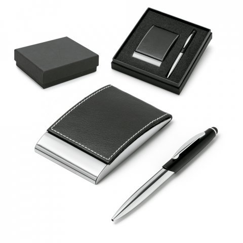 93323.03<br> MURPHY. Ball pen and cardholder set