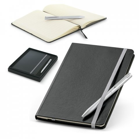93714.23<br> MORAES. Ball pen and notepad set