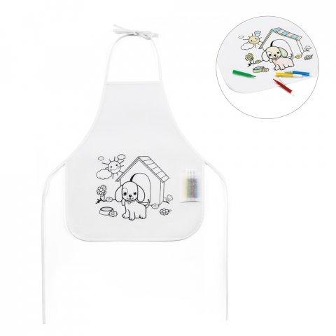 99834.06<br> NILO. Children's colouring apron
